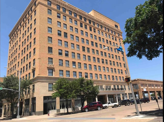 Downtown Abilene apartment in the Windsor Hotel