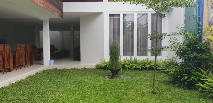 Spacious Garden View Room in the lovely Yogyakarta