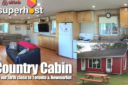 Country Cabin on Farm Close to Toronto Newmarket - Schomberg - Autre