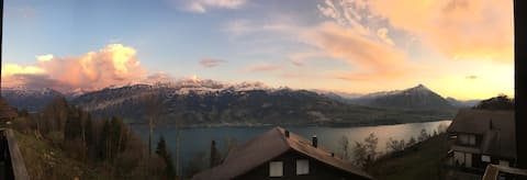 "Stunning views from top of Interlaken ""El Mirador"""