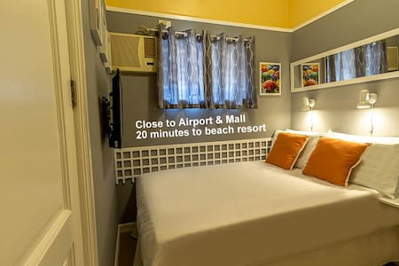 Close to Airport Private bath. Rm.1 - Lapu-Lapu City - Bed & Breakfast