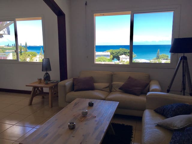 Comfortable, spacious, SEA VIEW ! - Apartments for Rent in Noumea ...