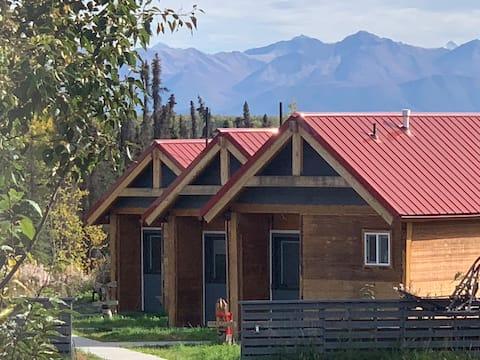 Aurora Lights Cabins: Moose Cabin (no clean fee!)