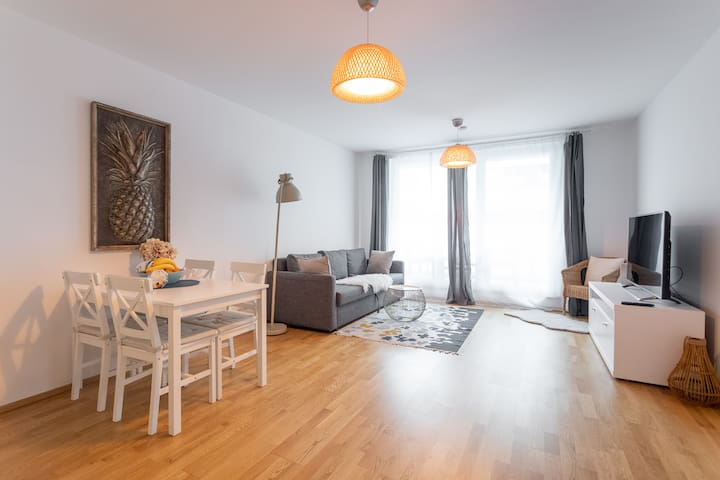 Beautiful new Apartment near Danube River 70,76m²