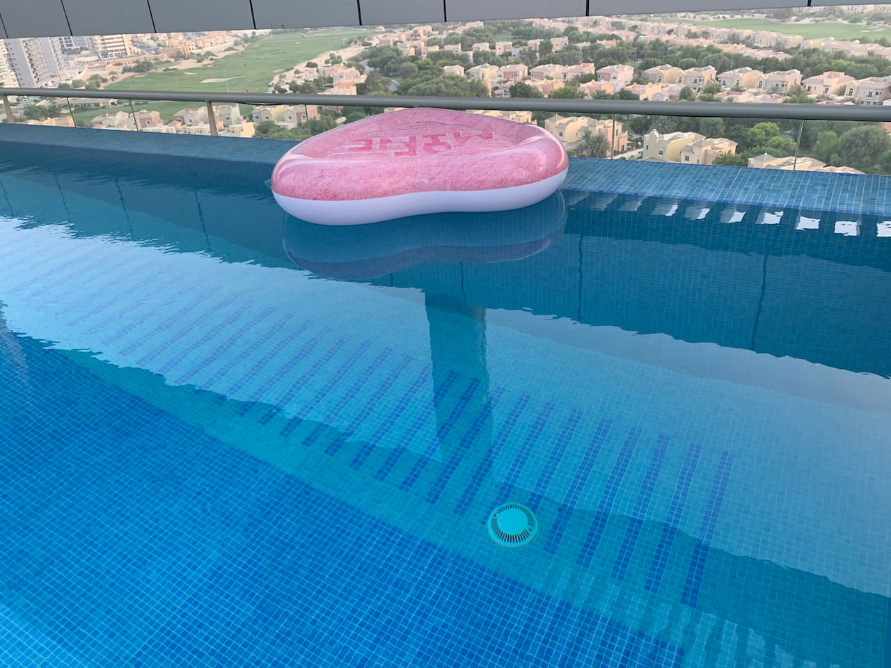 Infinity pool on the rooftop
