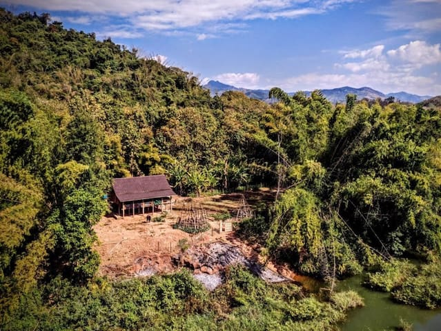 Homestay in Laos - Unique house by the river