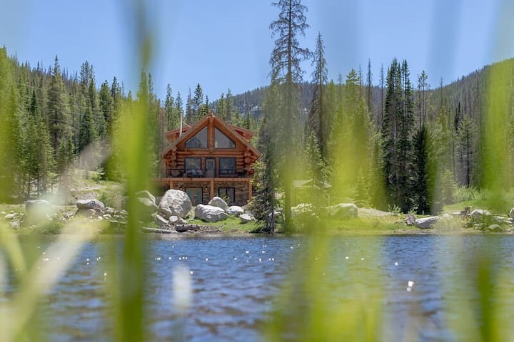 Elk Creek Lodge: Open for Summer! This is Colorado!!