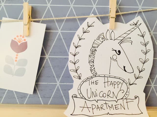 THE HAPPY UNICORN APARTMENT