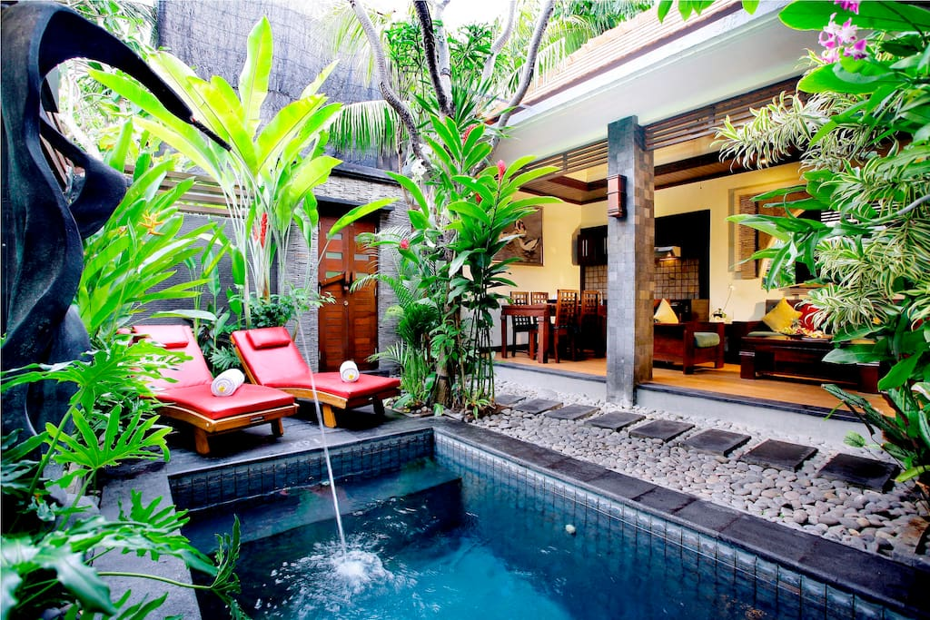 Chill in your own very private pool
