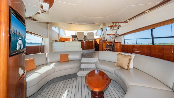 Rent a Luxury Yachting Experience! (64' Fairline)