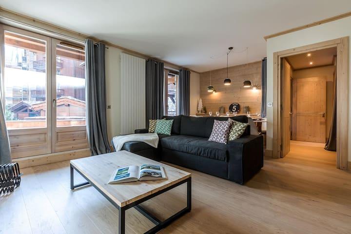 CHOU12 - Magnifique appartement. Centre Ville, proche pistes et commerces.