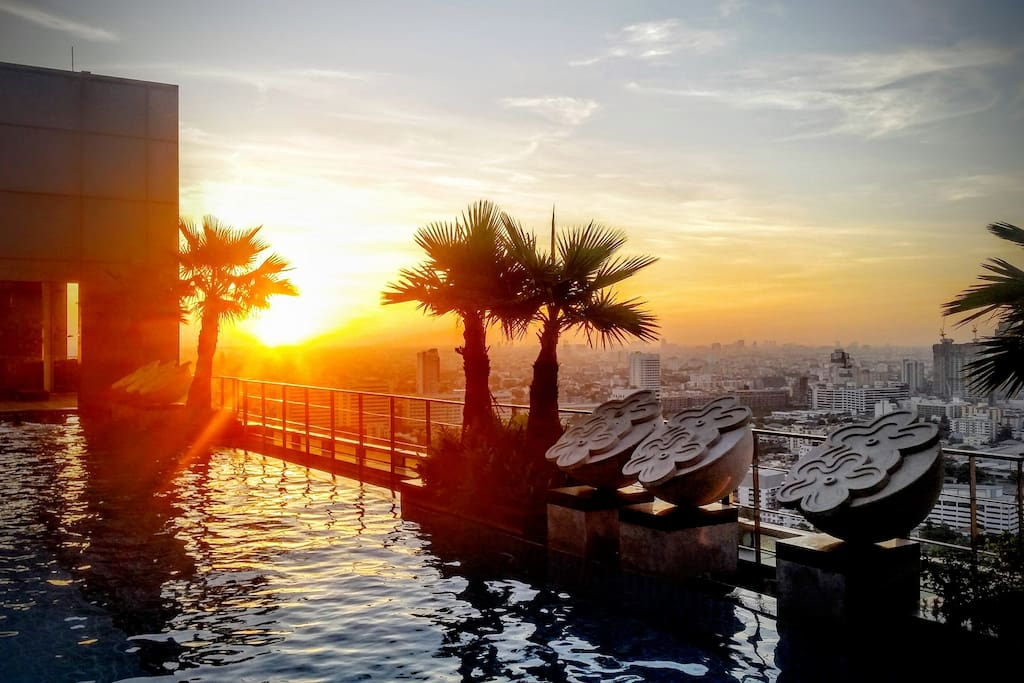 Don't miss amazing surise view from the rooftop pool!