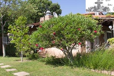 Maison 2 chambres piscine wifi jardin - Bouc-Bel-Air