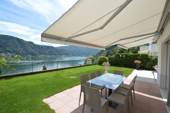 EXCLUSIVE LAKEVIEW VILLA CASLANO – LUGANO