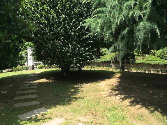 relax in villa con parco privato - Cumiana - Huis
