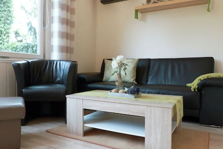 Cosy and detached holiday home in the middle of nature of the Thuringian Forest