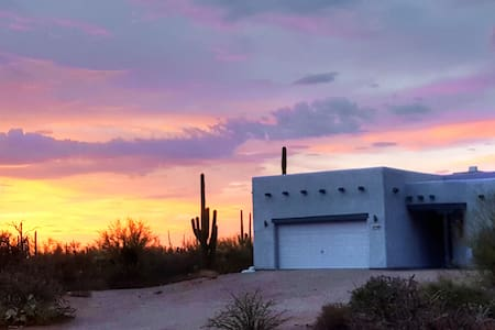 Desert Saguaro Forest Oasis on Two Acres - Hus