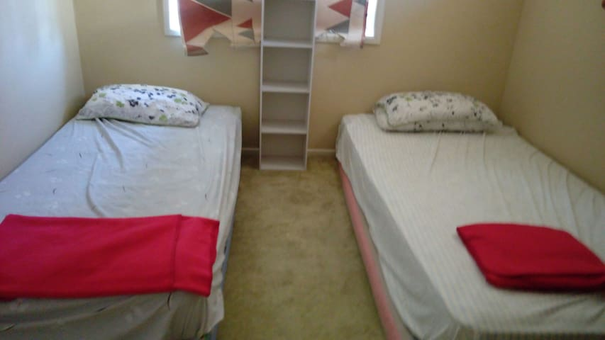 Normal Two Single beds room兩單人床雅房 - Sunnybank - Dům