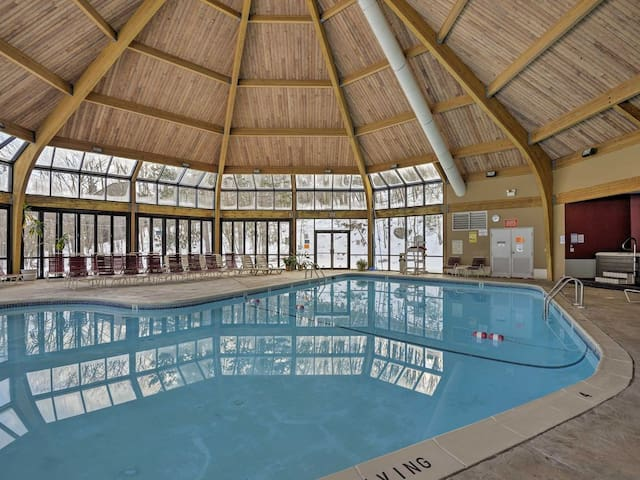 Pool is Located in the Clubhouse