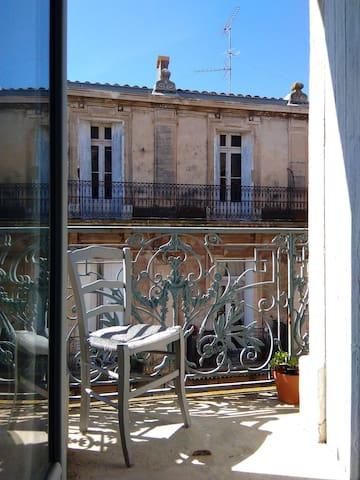 Balcon devant / Front balcony