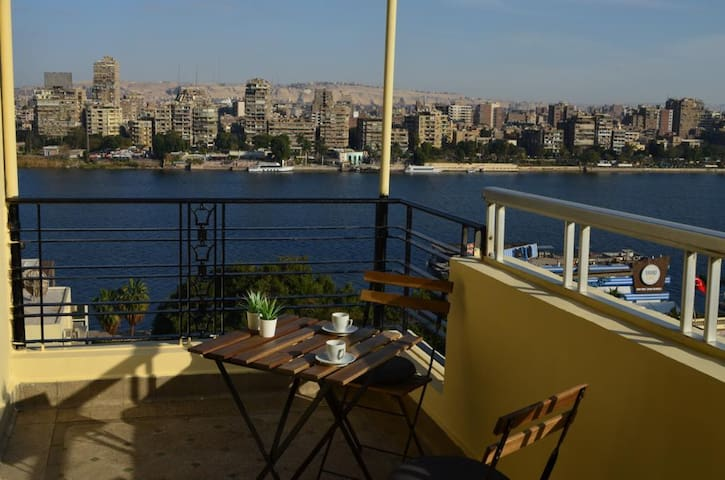 Charming Nile view apartment with balcony
