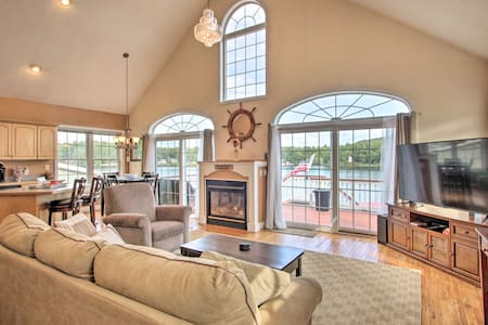 NEW! Waterfront Haven on Milton Pond w/ Boat Dock!