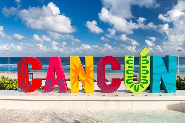 Habitación cómoda en Cancún. - Cancún - Bed & Breakfast