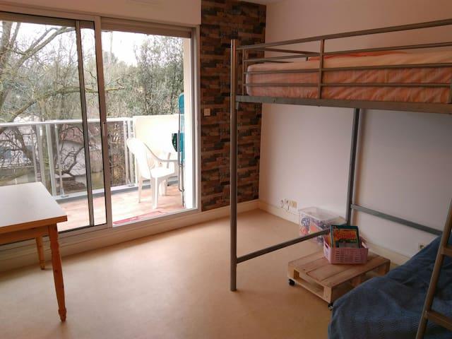 Studio 25m2 avec terrasse 50m Plage de Nauzan - Vaux-sur-Mer - Apartment