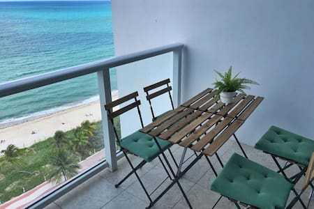 Brand New Ocean front W/ Balcony and Parking