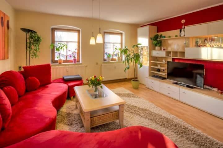 Familienfreundliches Apart Pillnitz Schlossblick