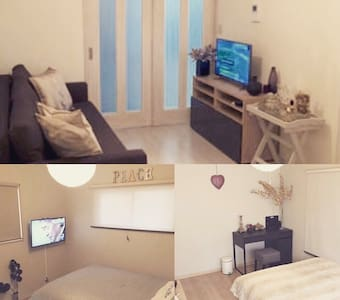 2 min walk TAMACHI/MITA *3 BEDROOM*