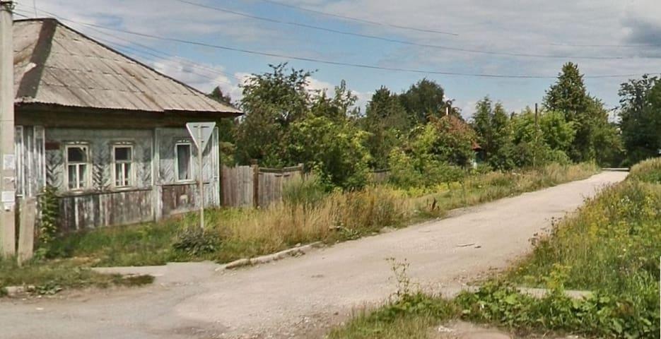 Комната в деревянном доме - Perm - Hus