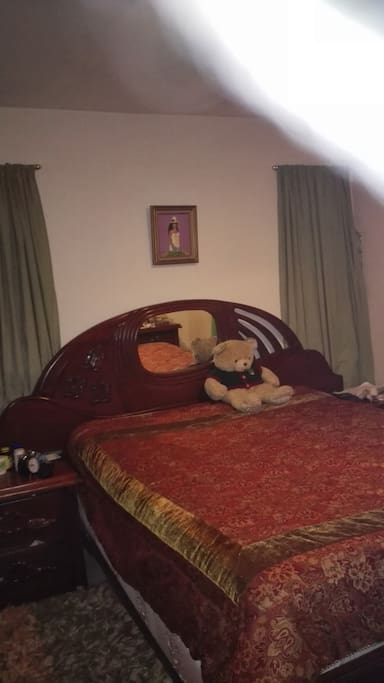 cama king size, amplía habitación