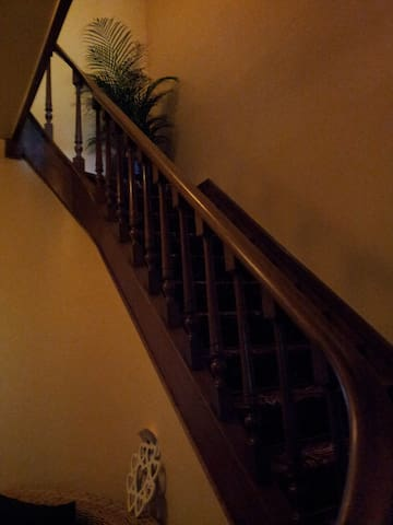 Staircase to the upper floor