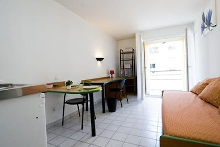 5min to the Train station,behind the shopping mall - Nizza - Wohnung