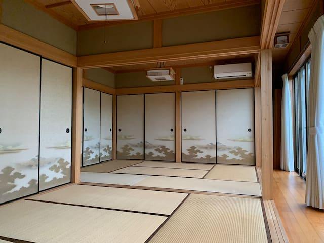 """欢迎光临白浜的""""温泉乡之家"""",纯日式风格的住宅与庭院"""