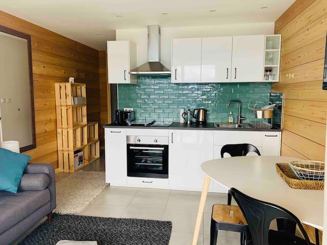 Brand new 4p Apartment in Majestic II