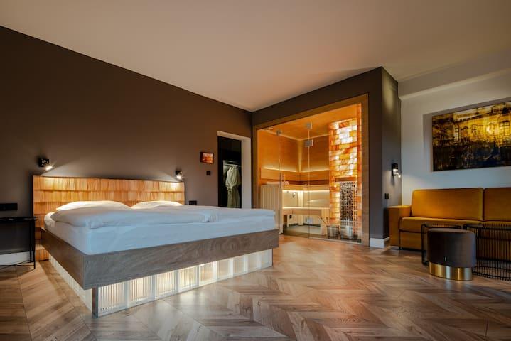 Junior Suite mit privater Sauna