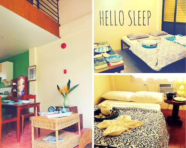 Charming Townhouse +Airport Pickup 50mbps WIFI