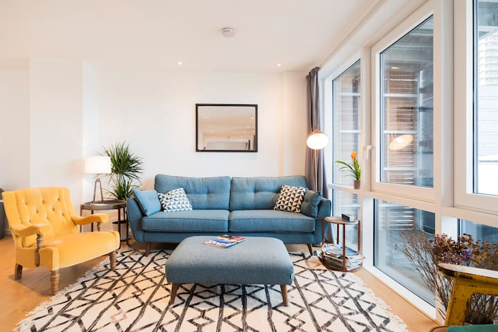 Enjoy the Amazing Sunsets in this Spacious Islington Apartment