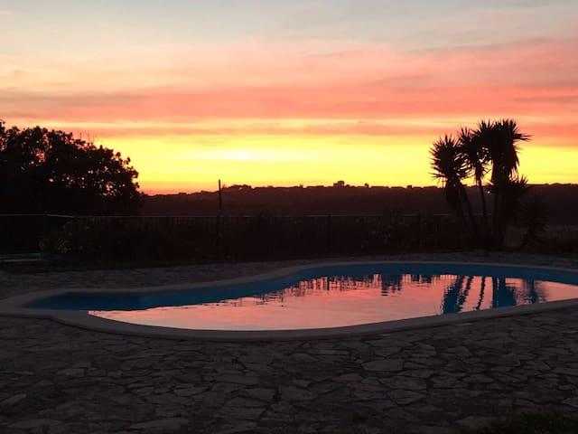 Casa do Cabeço - Casa de Campo com piscina - Benedita - Huis