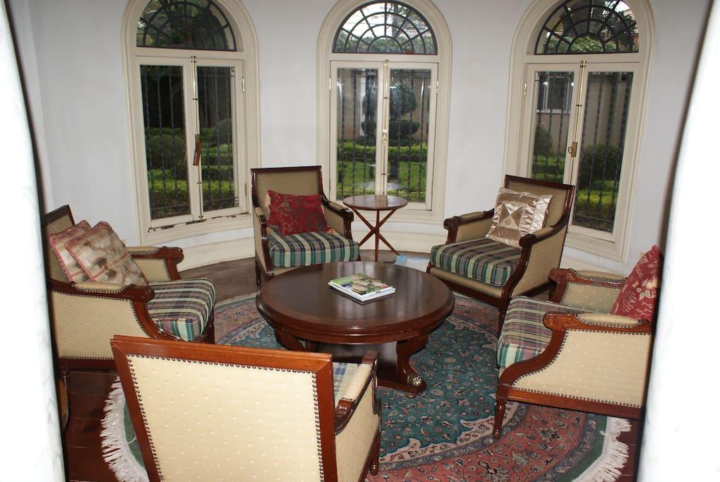Sala redonda de estar
