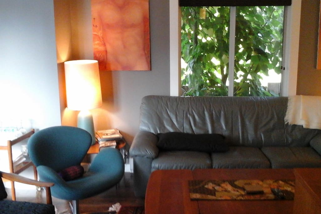 Living Room - Curl up on the couch.
