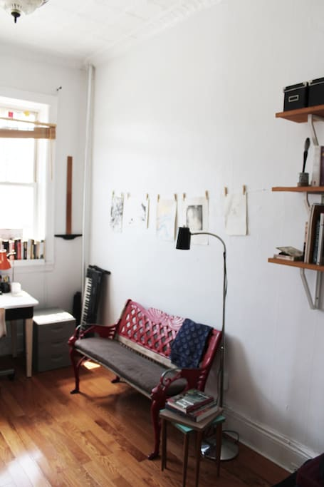 Office/Dressing Room Bench