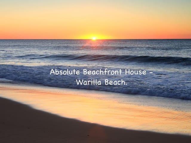 Beach Front Home - 'Wanda' at Warilla Beach