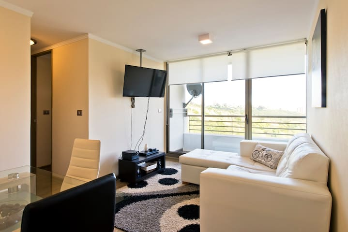 Apartamento 2 dormitorios y Parking - Viña del Mar - อพาร์ทเมนท์