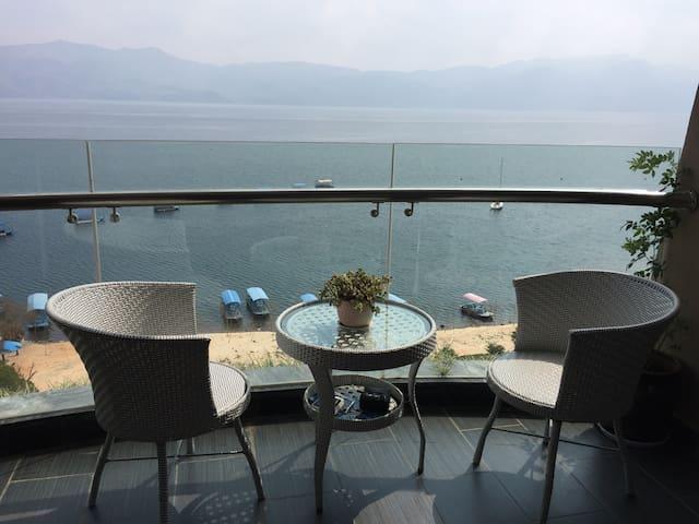 安然#抚仙湖九龙晟景超大阳台豪华度假公寓