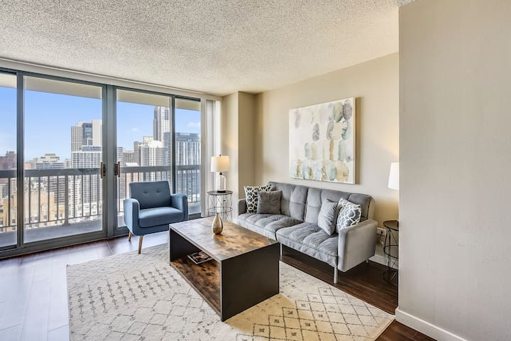 New - Amazing Views on 36th Floor in River North