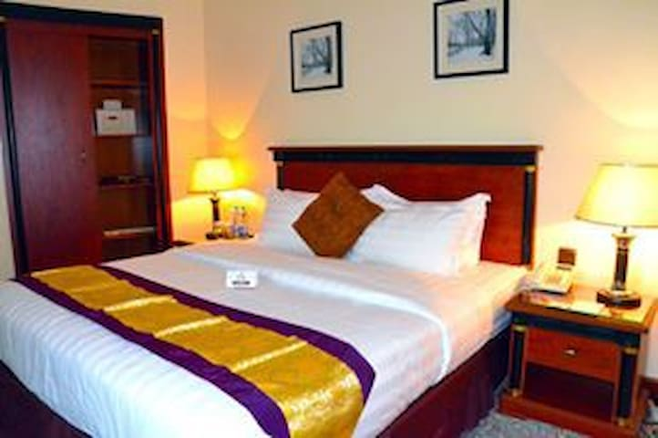 Hotel is Located in Jubail Business District.
