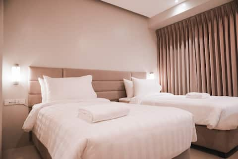 Standard Room Twin bed @Ma.Awani Hotel and Suites.